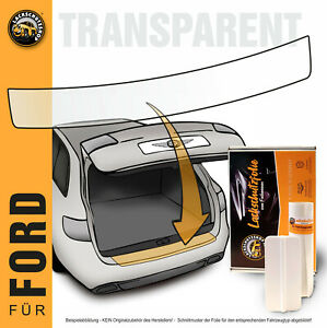 Lackschutzfolie für Ford Fiesta VII JH8 ab BJ´17 - Ladekantenschutz transparent