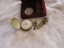 Vintage Westclox Pocket Watch with FOB and Original Box