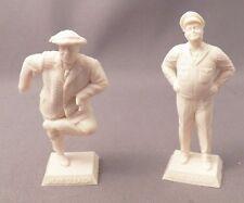 Marx Reissue 60mm Jackie Gleason Figure Lot Set of Two