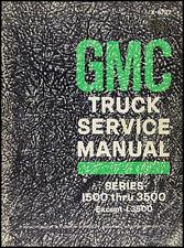 ORIGINAL 1967 GMC Shop Manual 67 Pickup Truck Jimmy Suburban Panel Van Repair