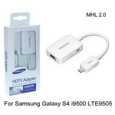 MHL 2.0 Micro USB to HDMI HDTV Adapter for Samsung Galaxy S4 i9500 IV LTE i9505