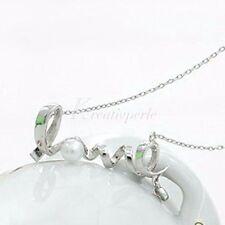 Modeschmuck-Halsketten & -Anhänger aus Edelsteinen und Metall-Legierung
