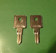 2 Waterloo Toolboxes Keys  8201 thru 8299 Craftsman Tool Box Locks-Lock Key