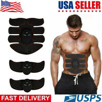 Ultimate EMS AB & Arms Muscle Simulator ABS Training Abdominal Trainer 8 Pad Set