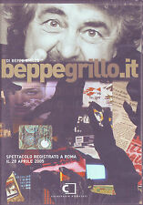 BEPPE GRILLO BEPPEGRILLO.IT (2005) DVD ORIGINALE NUOVO SIGILLATO