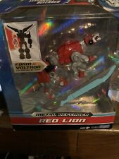 Voltron Legendary Defender Red Lion 5 inches long Playmate Diecast Metal