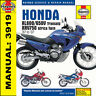 Honda XL600 XL650 XL650V Transalp XRV750 1987-2007 Haynes Manual 3919 Nuevo