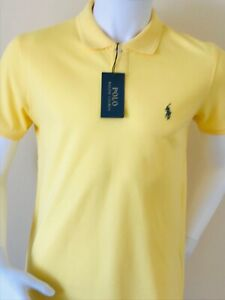 RALPH LAUREN POLO - YELLOW - SMALL ONLY -  LAST ONE REDUCED TO CLEAR PRICE%%%%