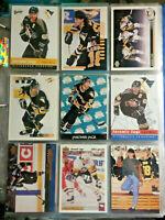 Jaromir Jagr Pittsburgh Penguins 9 Card Lot