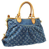 LOUIS VUITTON NEO CABBY MM 2WAY HAND BAG TH2097 MONOGRAM DENIM M95349 A53469