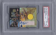 KOBE BRYANT Autograph Game Used 2010 gold standard 24k Graded PSA 8.5  # 08/49