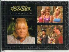 Star Trek Voyager Quotable Best Of The Holodeck Chase Card H2