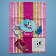American Girl 2005 Seaside Cabana Beach Ball Towel Ice Cube Retired