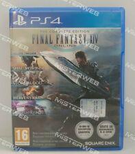 Final Fantasy XIV The Complete Edition PS4 NUOVO DA ESPOSIZIONE