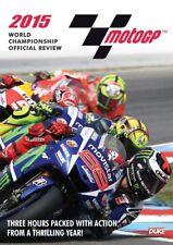 MOTO GP 2015  DVD - JORGE LORENZO - MotoGP Grand Prix Season Review - NEW UK