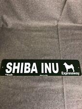 """Dog Breed Sign Shiba Inu 16.5""""x3.5"""""""
