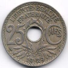 France : 25 Centimes 1929
