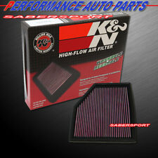 K&N 33-2292 Hi-Flow Air Intake Washable Drop in Filter for BMW *See Detail*