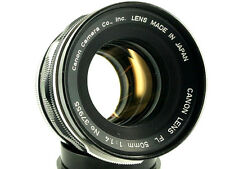 Canon Lens FL objectif 50mm 1:1 .4 Canon FL