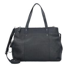 Liebeskind Pebble Handbag Handle Bag Ladies Leather 43 Cm (black)