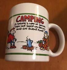 Hallmark Showbox Greetings Camping Coffee Mug