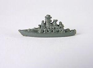 Dollhouse Miniature Artisan Toy Grey Battleship, 2852