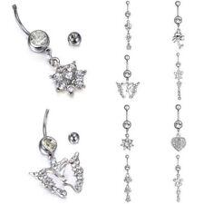 Stainless Steel Navel Beauty Stud Body Piercing Jewellery