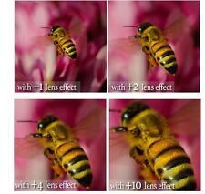 4Pcs +1+2+4+10 Close-Up Macro Lens Set For Sony FDR-AX1