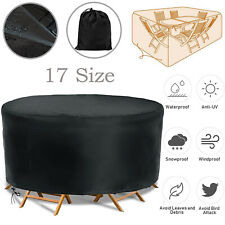 More details for waterproof garden patio furniture cover outdoor large rattan table sofa cushions