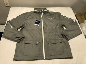 NWT $80.00 HUK Performance Breaker Fishing Gear Jacket Gray Size XXL