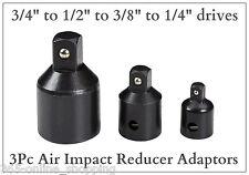 """Zócalo De Impacto Reductor Set/Paso Abajo Adaptadores de 3/4 a 1/2 a 3/8 a 1/4"""" unidades"""