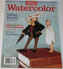 American Artist Magazine Watercolor Fall 2005 Telling Stories with a Brush