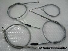 HONDA CB100 K0-K3 CB125S S110 COMPLETE CABLE GREY SET //  NEW