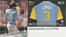Evan Longoria LONGO RAYS TOPPS NOW PLAYERS WEEKEND NICKNAMES PW-131 SP 65