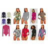 Ladies Plain High Roll Turtle Polo Neck Bodysuit Womens Long Sleeve Leotard Top