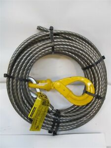"""B/A Products 4-S716100LH, 7/16"""" x 100' Super Swaged Winch Line"""