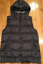 Lululemon Sz 12 Chilly Chill Vest - Down Filled - Black & Gingham - Reversible