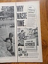 1950 Simoniz Car Wax Ad   Plymouth