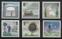 SG2721-6.  2007 World of Invention. 2nd.Series-GUMMED. Superb UM Set.  Ref:05124
