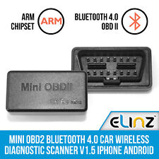 Mini OBD2 Bluetooth 4.0 Car Wireless Diagnostic Scanner V1.5 iPhone Android