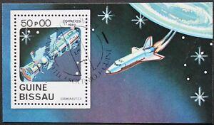 "Guinea-Bissau: Michel Block-Nr. 249 ""Raumfahrt/ Weltraumforschung"" 1983, gest."