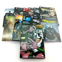 Lot 12 Batman Graphic Novels TPB Comic Books Dark Knight Owls Death Family Joker