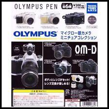 Takara Tomy Art Olympus Camera OM-D PEN Keychain Gashapon Figure 6 Models Toys