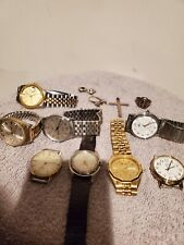 Vintage Watches/Junk Silver And Earrings