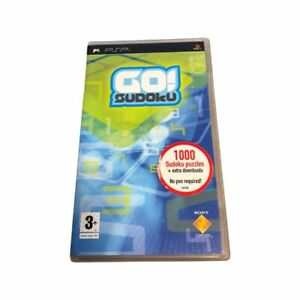 Umd Video For Sony PSP GO SUDOKU Rating 3+ Manual Available Inside Box
