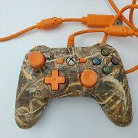 Power A Wired Controller For Xbox 360 Orange RealTree Camouflage 1240364