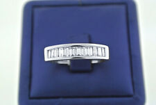 2.00Ct Solid 14K White Gold Fn D/VVS1 Diamond Engagement Wedding Men's Ring