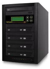 CD DVD Duplicator 4 burner 20X DVD copier Copy Tower