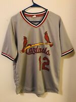 Tom Lawless St Louis Cardinals Jersey Size XL