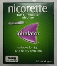 NICORETTE INHALATOR CARTRIDGES 15MG- PACK OF 36